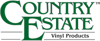 Country Estate Vinyl logo